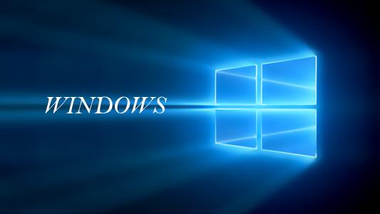 windows login area